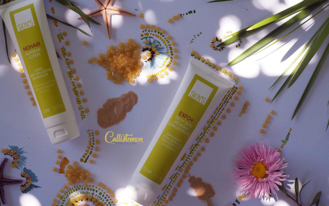 I prodotti della Skin's Best Brazilian Waxing in esclusiva da Callistemon Estetica&SPA.
